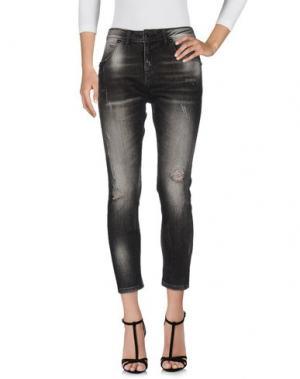 Джинсовые брюки AB/SOUL. Цвет: черный