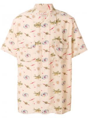 Рубашка с короткими рукавами и принтом Levis Vintage Clothing Levi's. Цвет: телесный