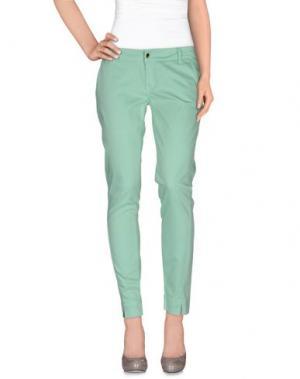 Повседневные брюки MET & FRIENDS. Цвет: светло-зеленый