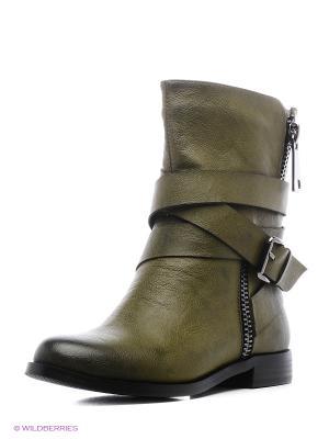 Ботинки CARLO BELLINI. Цвет: хаки