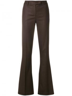 Широкие брюки Ql2. Цвет: коричневый