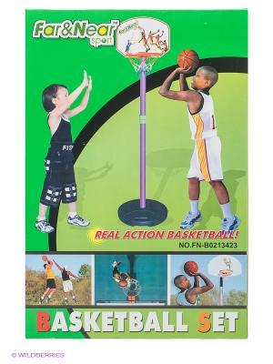 Стойка баскетбольная Far&Near. Цвет: фиолетовый