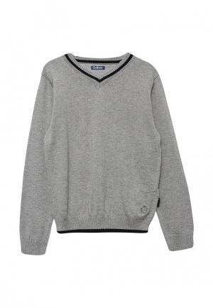 Пуловер Gulliver. Цвет: серый