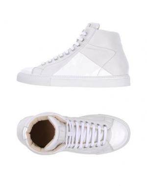 Высокие кеды и кроссовки MR.HARE. Цвет: белый