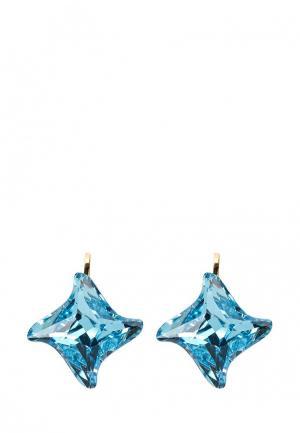 Серьги Malu. Цвет: голубой