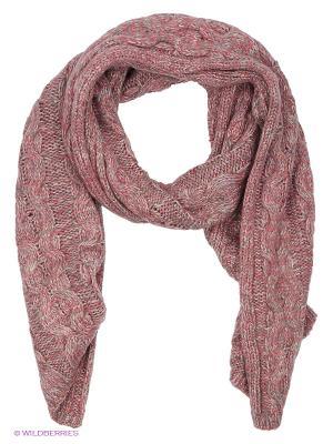 Шарф FRAAS. Цвет: розовый, серый