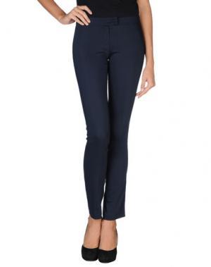Повседневные брюки CRISTINAEFFE. Цвет: темно-синий