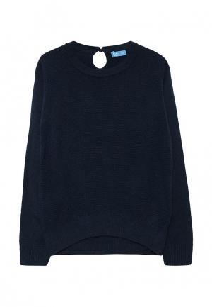 Джемпер Button Blue. Цвет: синий