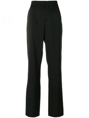 Фактурные брюки Loewe. Цвет: чёрный