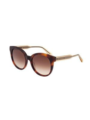 Солнцезащитные очки Bottega Veneta. Цвет: коричневый, темно-коричневый