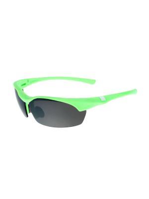 Солнцезащитные очки Gusachi. Цвет: зеленый, черный