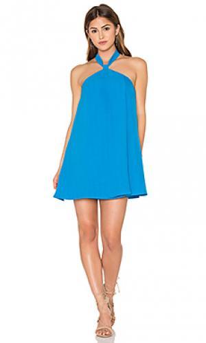 Платье elowen Lucca Couture. Цвет: синий