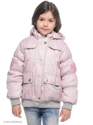 Куртка Baby Line. Цвет: бледно-розовый