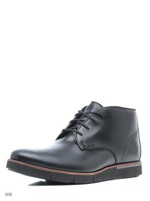Ботинки TIMBERLAND. Цвет: черный
