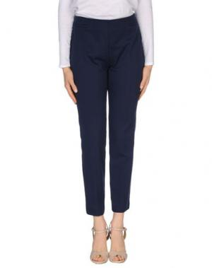 Повседневные брюки KILTIE. Цвет: синий