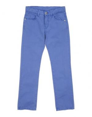 Повседневные брюки EDDIE PEN. Цвет: пастельно-синий