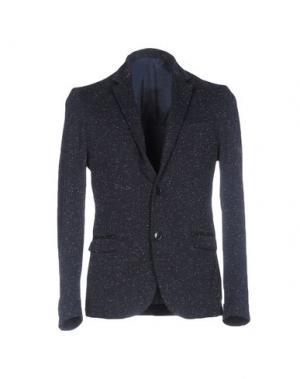 Пиджак DAVID NAMAN. Цвет: темно-синий