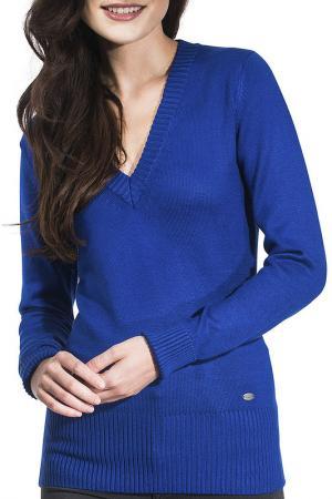 Пуловер Vincenzo Boretti. Цвет: синий