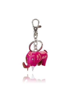 Брелок Слоненок (розовый) Honey Jewelry. Цвет: розовый