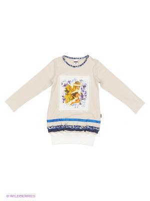 Платье Baby Line. Цвет: бежевый