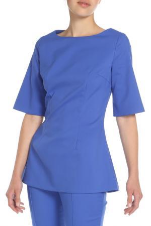 Блузка Ketroy. Цвет: синий