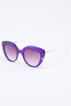 Очки солнцезащитные Byblos. Цвет: сиреневый