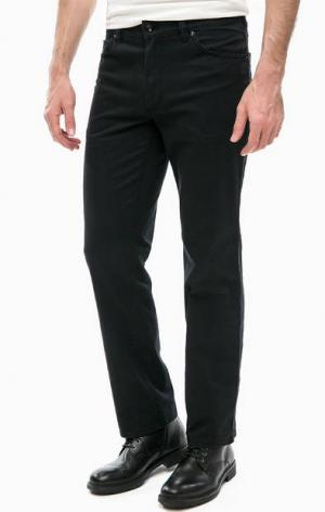 Черные брюки с пятью карманами Mustang. Цвет: черный