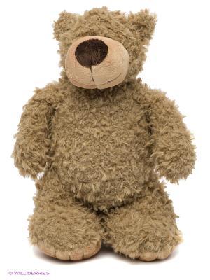 Медведь Серый 28 см. MAXITOYS. Цвет: бежевый