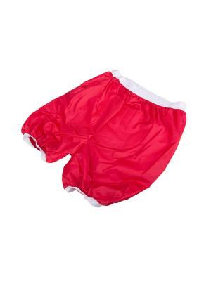 Непромокаемые шорты-ледянки Оксфорд SenSy. Цвет: красный
