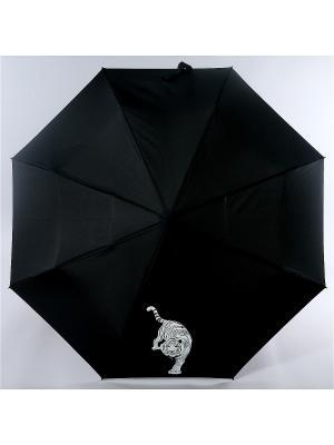 Зонт Nex. Цвет: черный, синий, белый
