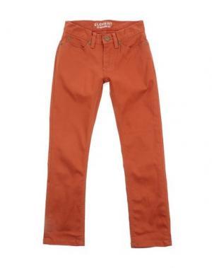 Джинсовые брюки ELEMENT. Цвет: ржаво-коричневый