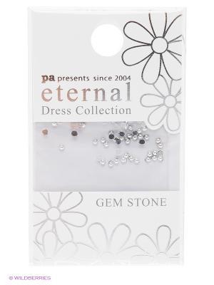 Стразы-камушки для ногтевого дизайна Серебро 1,5мм ETERNAL Dress Collection Gem Stone Silver PA presents since 2004. Цвет: серебристый