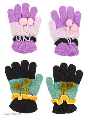 Перчатки FOMAS. Цвет: зеленый, фиолетовый, розовый, черный