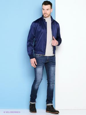 Куртка Trussardi. Цвет: синий