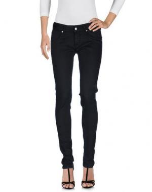 Джинсовые брюки NOLITA. Цвет: черный