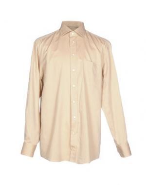 Pубашка VAN LAACK. Цвет: бежевый