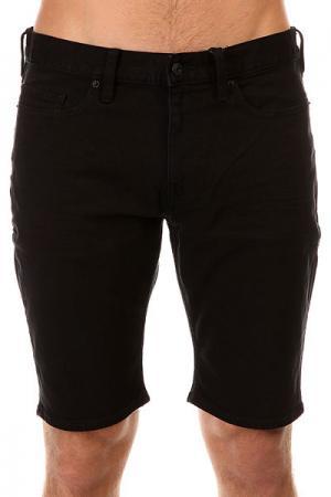 Шорты джинсовые DC Worker Straight Black Rinse Shoes. Цвет: черный