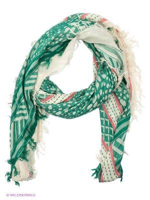 Платок Moltini. Цвет: зеленый