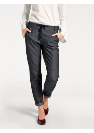 Моделирующие брюки ASHLEY BROOKE by Heine. Цвет: серый меланжевый