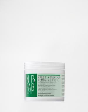 Nip+Fab Ватные диски для снятия макияжа Kale Fix x 60. Цвет: бесцветный