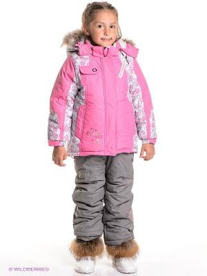 Комплект Baby Line. Цвет: розовый, серый