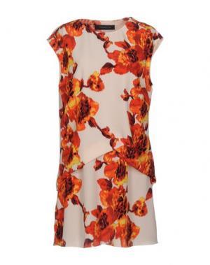 Короткое платье THAKOON. Цвет: красный