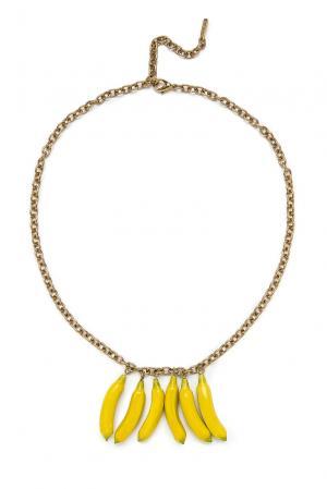 Колье 135355 Nach Jewellery. Цвет: желтый
