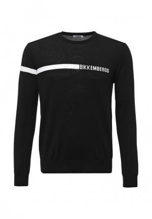 Джемпер Bikkembergs. Цвет: черный