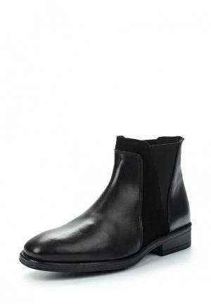 Ботинки KMB. Цвет: черный