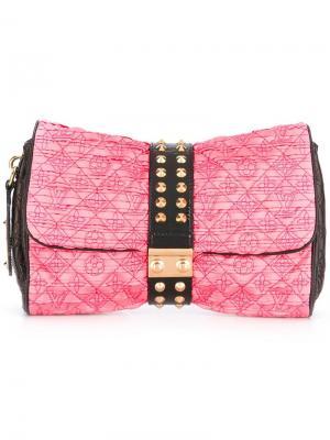 Клатч Monogram Louis Vuitton Vintage. Цвет: розовый и фиолетовый