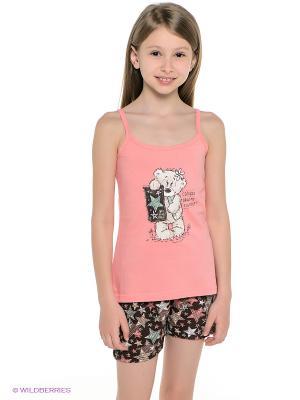 Комплект Vienetta Secret. Цвет: розовый, коричневый