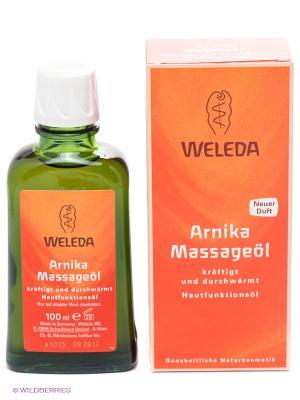 Массажное масло Weleda. Цвет: оранжевый