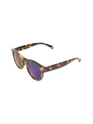 Солнцезащитные очки Gusachi. Цвет: черный, желтый, оранжевый
