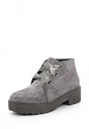 Ботинки Y & L. Цвет: серый